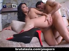 thrilling oriental dolly mika tan enjoys coarse