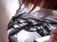 breasty korean making herself