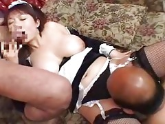 oriental japanese big beautiful woman housemaid 81
