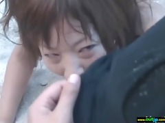 outdoor perverted japanese hotty receive screwed