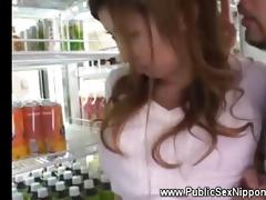 asians getting frisky in back of supermarket