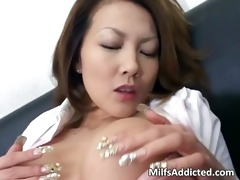 slutty oriental mother i touches her wet twat