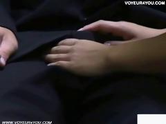 voyeur camera bench sex nude