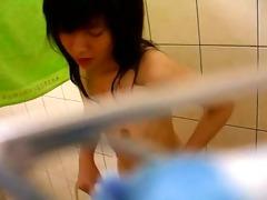 taiwan gal showering show