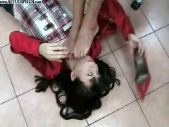 fumiko trampled and foot worship part 6