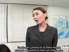 subtitled cfnm japanese schoolgirls stripped art