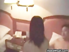 chinese sweetheart fucking in a hotel room part0