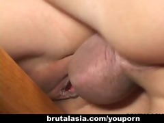 oriental doxy kaiya lynn screwed in a perverted