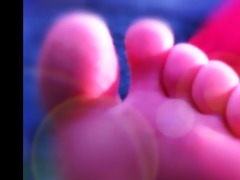 relaxing fairy feet