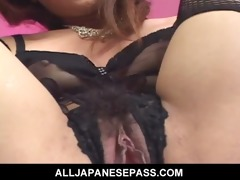 fake penis loving japanese cougar nana nanami