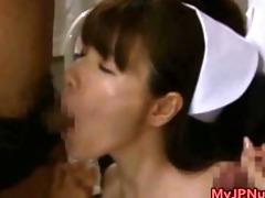 cute oriental hottie is a nurse having sex part9
