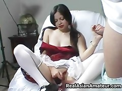 astounding tugjob given by a humorous part2