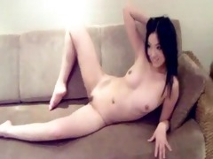 sexy and nice-looking chinese model
