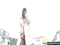 sexy japanese beauty flashing and fucking clip-89
