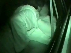 darksome night sex inside of car
