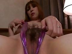 breasty oriental toying her needy love tunnel