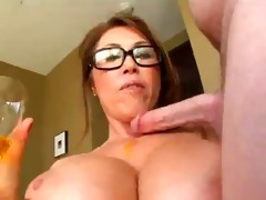 cougar head #04 (big boobed oriental woman loving