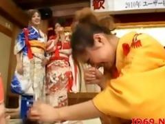 japanese av model licks knob