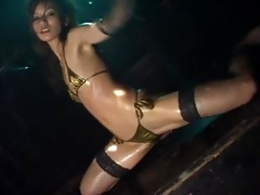 micro bikini oily dance 1 scene 7 - kaede
