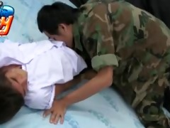 schoolboy and military twinks wicked play