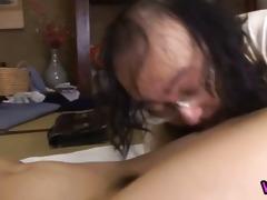 mother i mika osawa acquires dildo on vagina