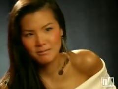 oriental lingerie model
