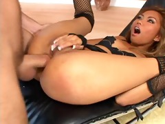 oriental lady prefers anal greater amount than