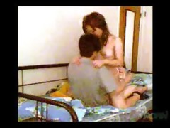 youthful chinese pair homemade sex movie scene