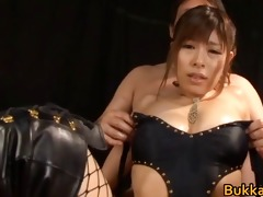 chloe fujisaki oriental doll gets threesome part11