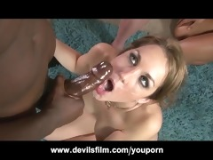 massive facial compilation cumming on milfs