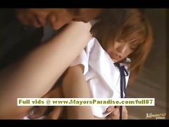 azusa itagaki sweet chinese schoolgirl who enjoys