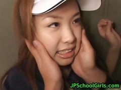 saya ueto schoolgirl receives drilled part9