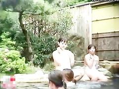 hawt spring public bathing angels
