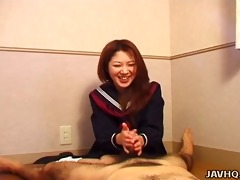 hot nanako hatsushima perverted cook jerking
