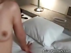 wicked oriental wench receives hirsute vagina
