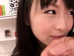 enchanting legal age teenager nozomi hazuki