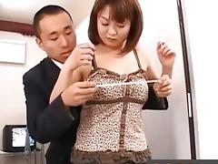 japanese av model flaunting big boobs