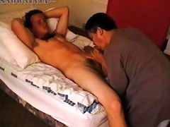 str marine oral sex & handjob - red shirt