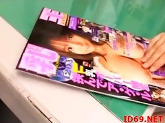japanese av model stripped and fastened