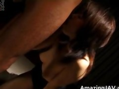 hot japanese sweetheart getting her bear part1