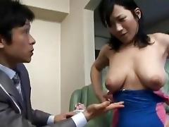 japanese mom enticed by salesman - cireman