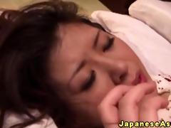 japanese aged dilettante enjoys anal
