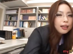 nice-looking teacher an mashiro copulates on her