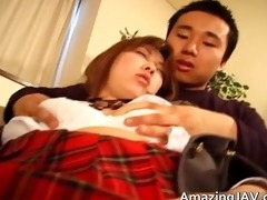 cute oriental schoolgirl engulfing part4