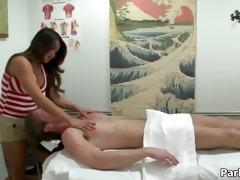 hot oriental whore receives slutty jerking