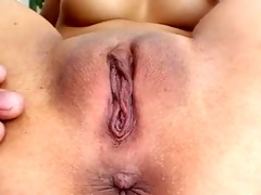 fingers and toys unfathomable in her chinese booty