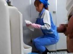 beautiful maintenance worker part0