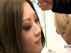 subtitled cfnm japanese nurses tugjob fellatio