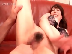 oriental playgirl fur pie fingered and licked in