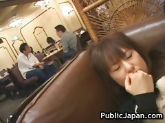 hot japanese doll receives some hard public part7